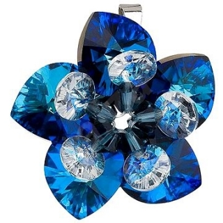 Swarovski elements 34072.5 bermuda blue